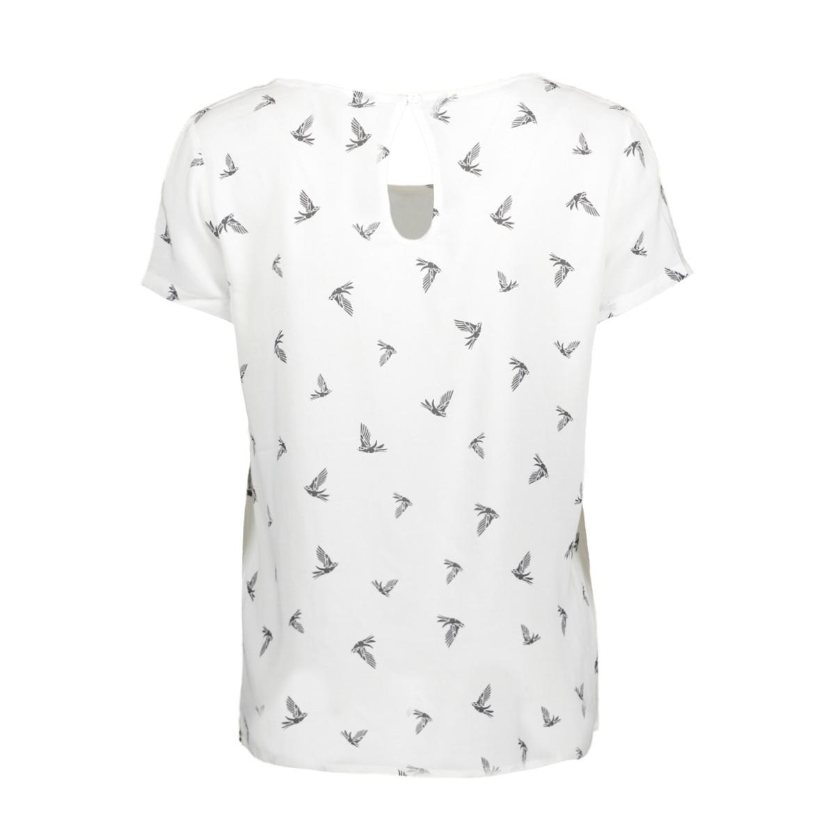 onlfirst ss mix aop top  noos wvn 15138761 only t-shirt cloud dancer/w. phantom