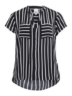 OBJBIRDY S/S TOP A 23026167 Black/White