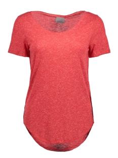 Vero Moda T-shirt VMLUA SS TOP COLOR 10165465 Toreador