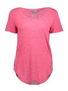 Vero Moda T-shirt VMLUA SS TOP COLOR 10165465 Beetroot Purple