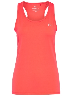 Only Play Sport top onpCLAIRE PLAIN SL TRAINING  TOP 15103788 Bright Coral