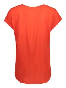 vilalla top/1 14044277 vila t-shirt fiery red