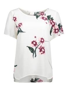 vinalina s/s top /1 14044595 vila t-shirt cloud dancer