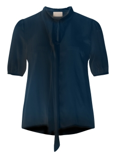 viflama 1/2 sleeve top gv 14042855 vila blouse dark navy