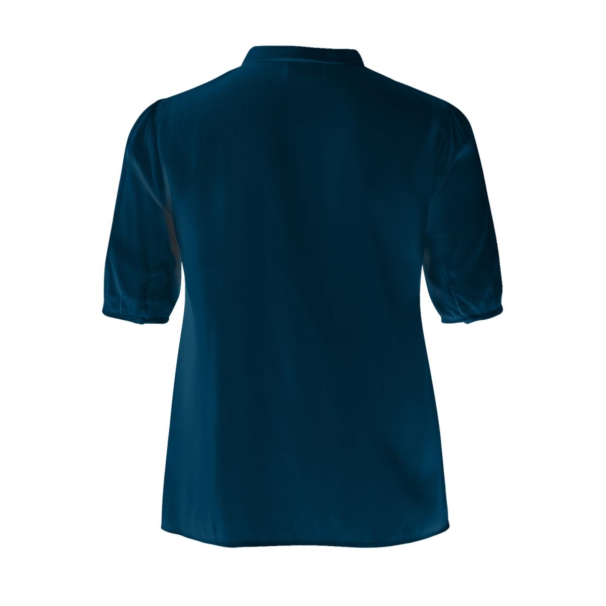 viflama 1/2 sleeve top gv 14042855 vila blouse dark navy