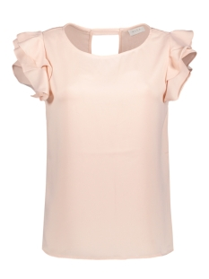 Vila Top VIOCCASION FLOUNCE TOP/DC 14043435 Peach Whip