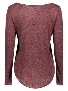 vmlua ls top noos 10158658 vero moda t-shirt zinfandel