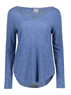 vmlua ls top noos 10158658 vero moda t-shirt true navy