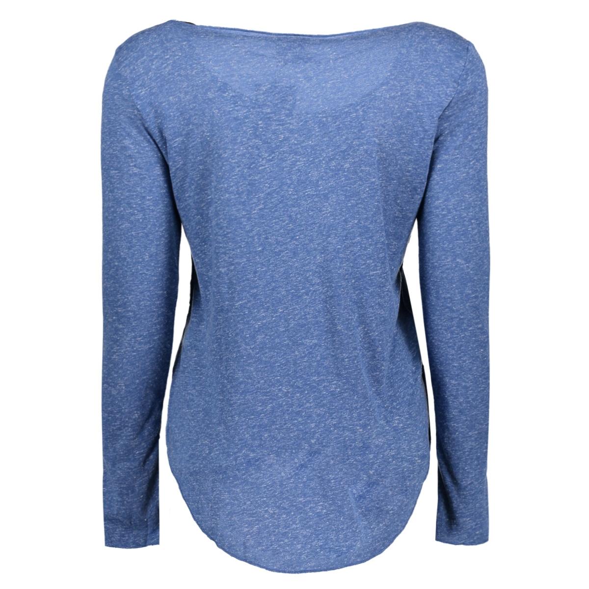 vmlua ls top noos 10158658 vero moda t-shirt true navy