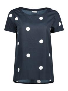 Jacqueline de Yong T-shirt JDYBLAZE S/S TOP WVN RPT1 15149486 Dark Navy/DOT