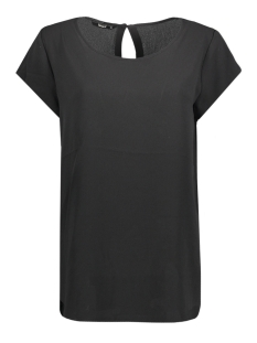 Only T-shirt onlCASA LUX S/S TOP WVN 15143250 Black