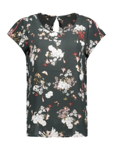 Only T-shirt onlCASA LUX S/S TOP WVN 15143250 Rosin/Flower