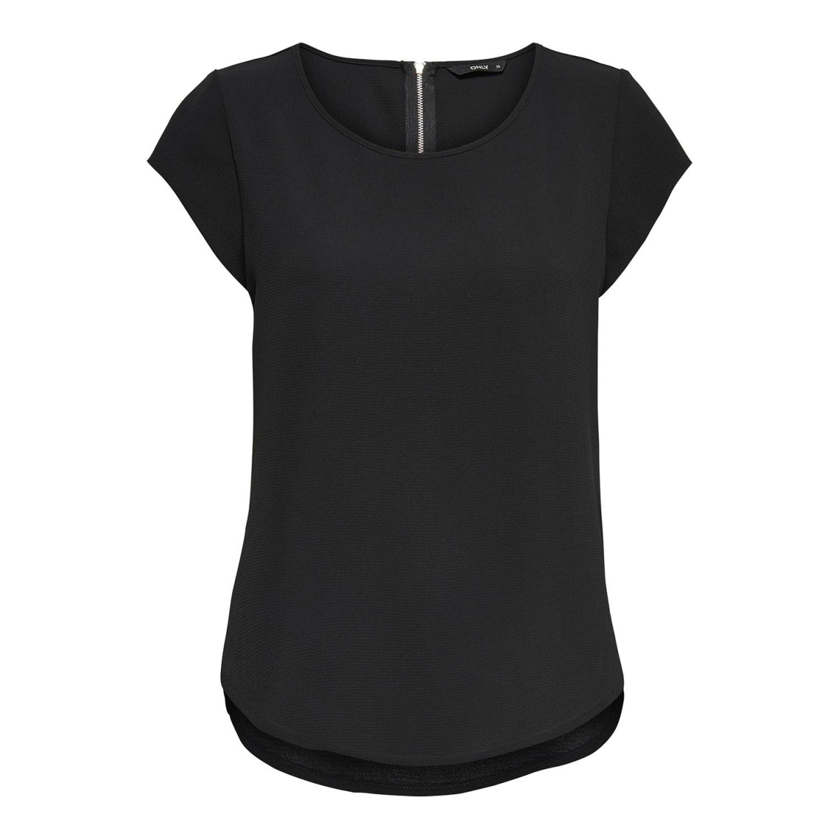 onlvic s/s solid top noos wvn 15142784 only t-shirt black