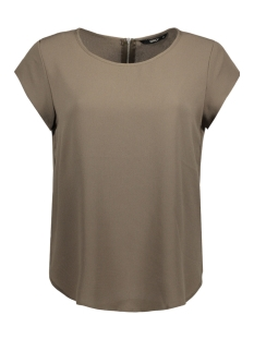 Only T-shirt onlVIC S/S SOLID TOP NOOS WVN 15142784 Tarmac