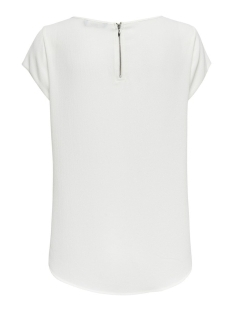 onlvic s/s solid top noos wvn 15142784 only t-shirt cloud dancer