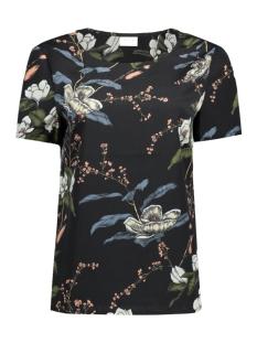 Vila T-shirt VIPAUSINA SS TOP/RX 14045756 Black