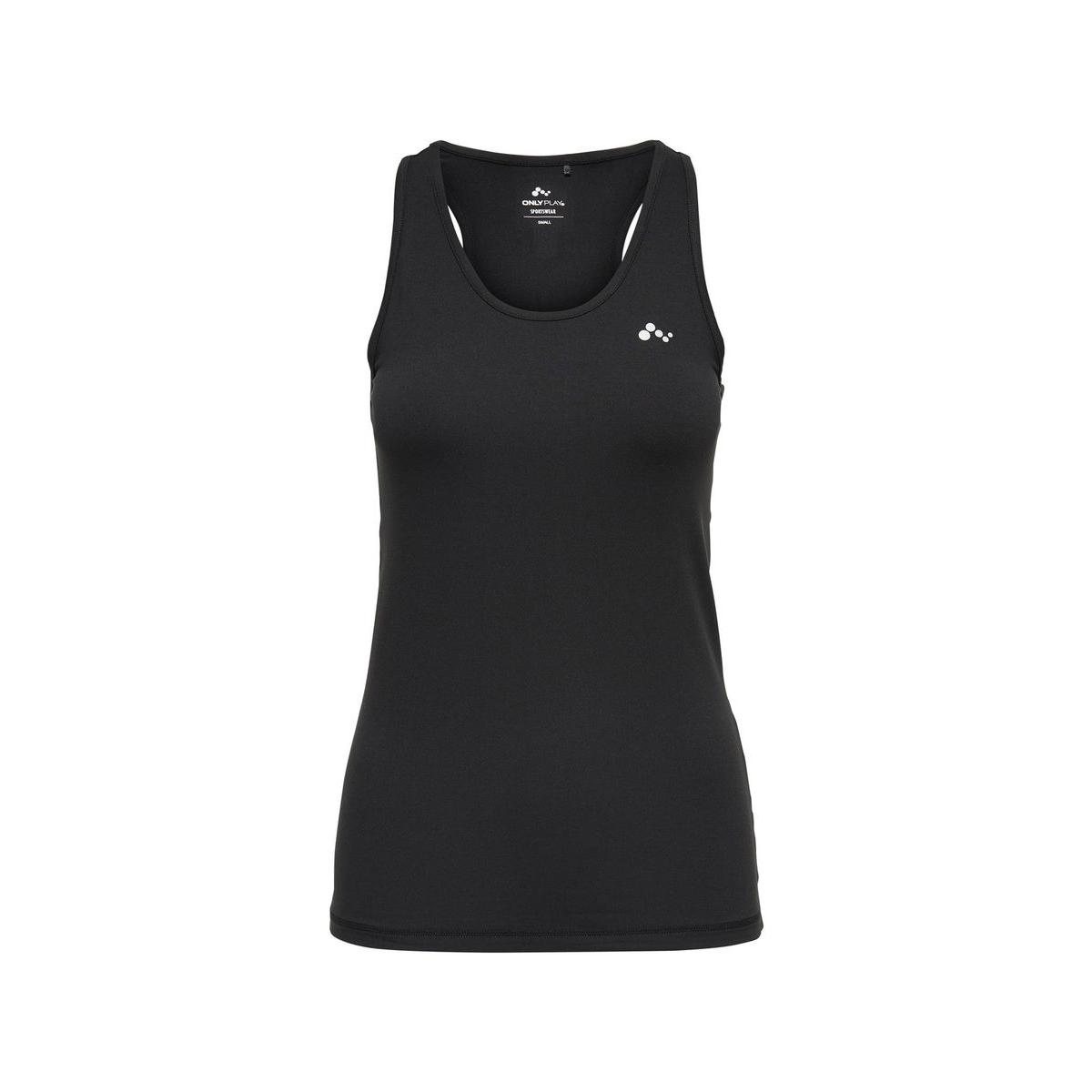onpclarissa sl training tee - opus 15135152 only play sport top black