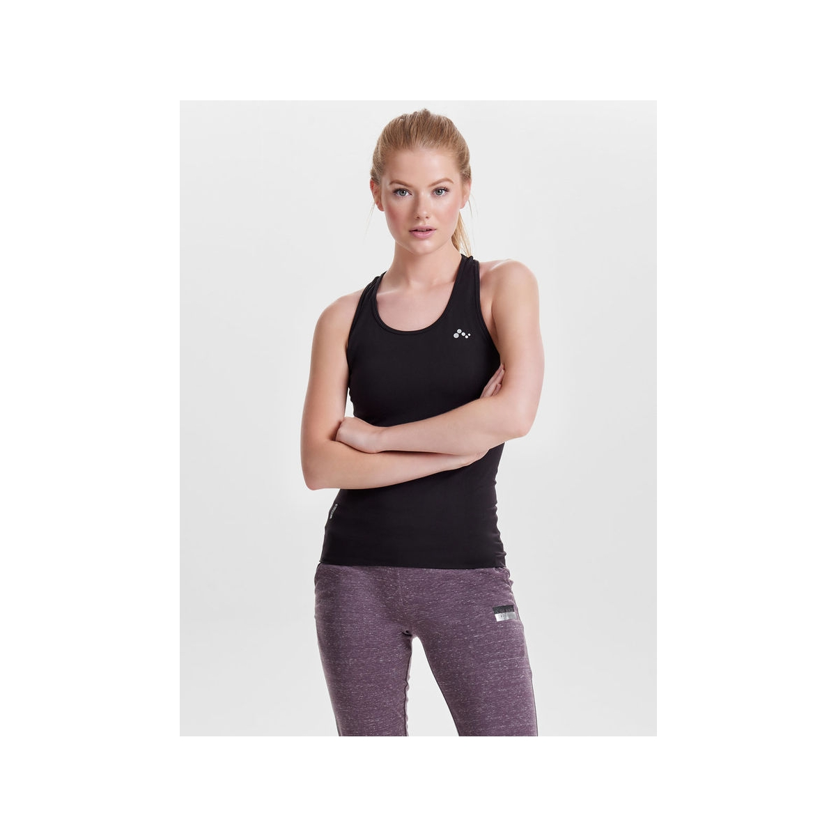 onpchristina seamless sl top - opus 15135328 only play sport top black