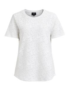 Object T-shirt OBJALEXIS S/S TOP 92 23025071 Gardenia