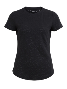 Object T-shirt OBJALEXIS S/S TOP 92 23025071 Black