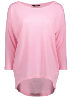 Only Trui onlELCOS 4/5 PLAIN TOP JRS 15148752 Prism Pink