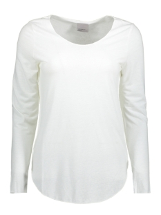 Vero Moda T-shirt VMLUA LS TOP NOOS 10158658 Snow White