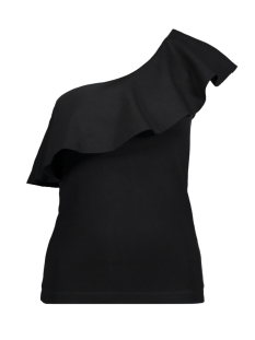 Vero Moda Top VMPUNTO ONE SHOULDER S/L TOP NFS 10191472 Black