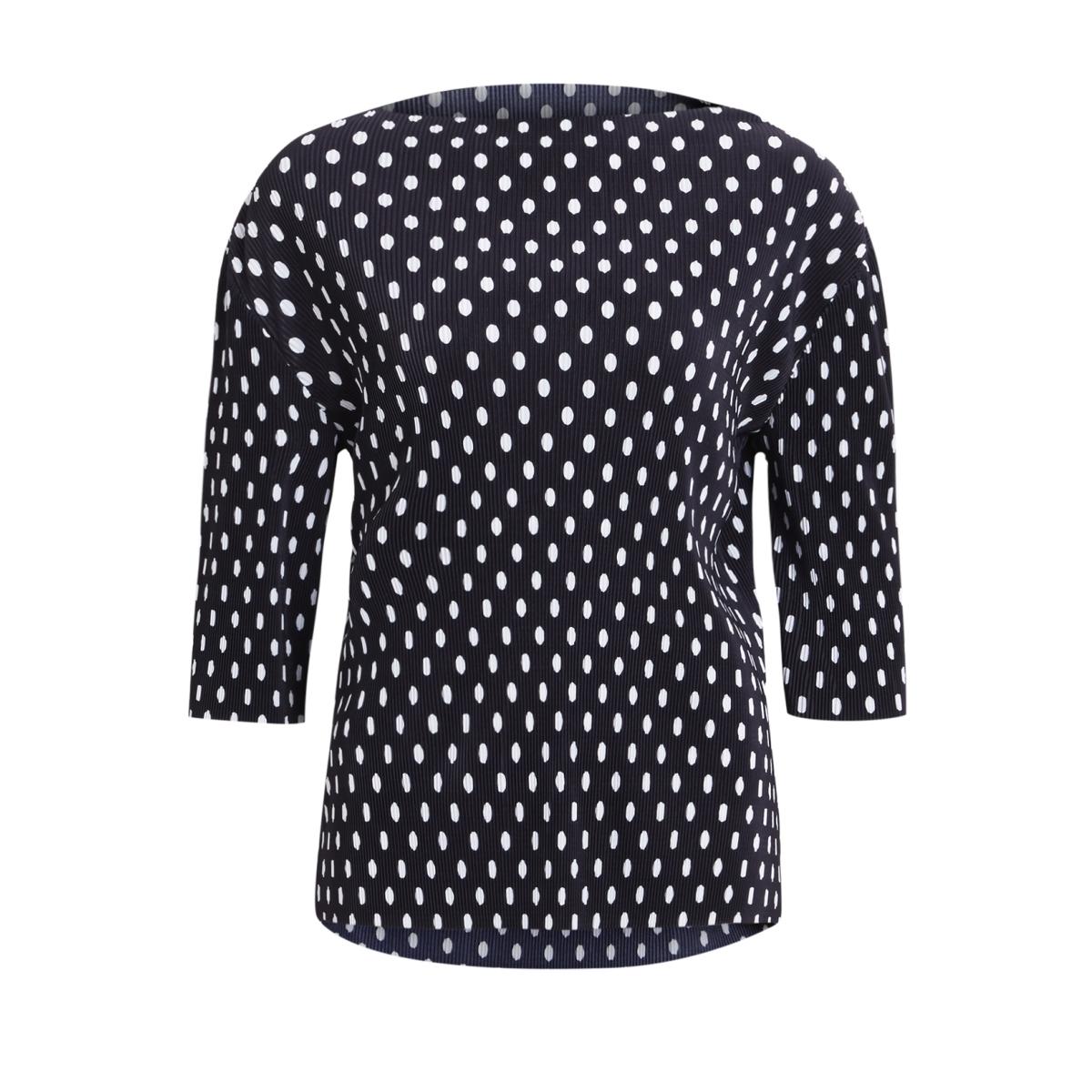 viadonia top 14044429 vila t-shirt dark navy/drak navy