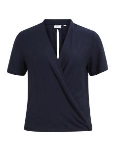 Object T-shirt OBJKYLIE S/S TOP 92 23024724 Sky Captain