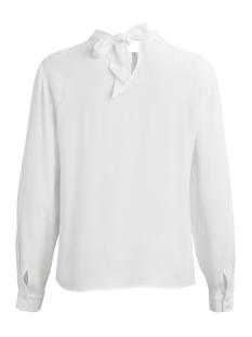 vilindy l/s top 14043409 vila blouse cloud dancer
