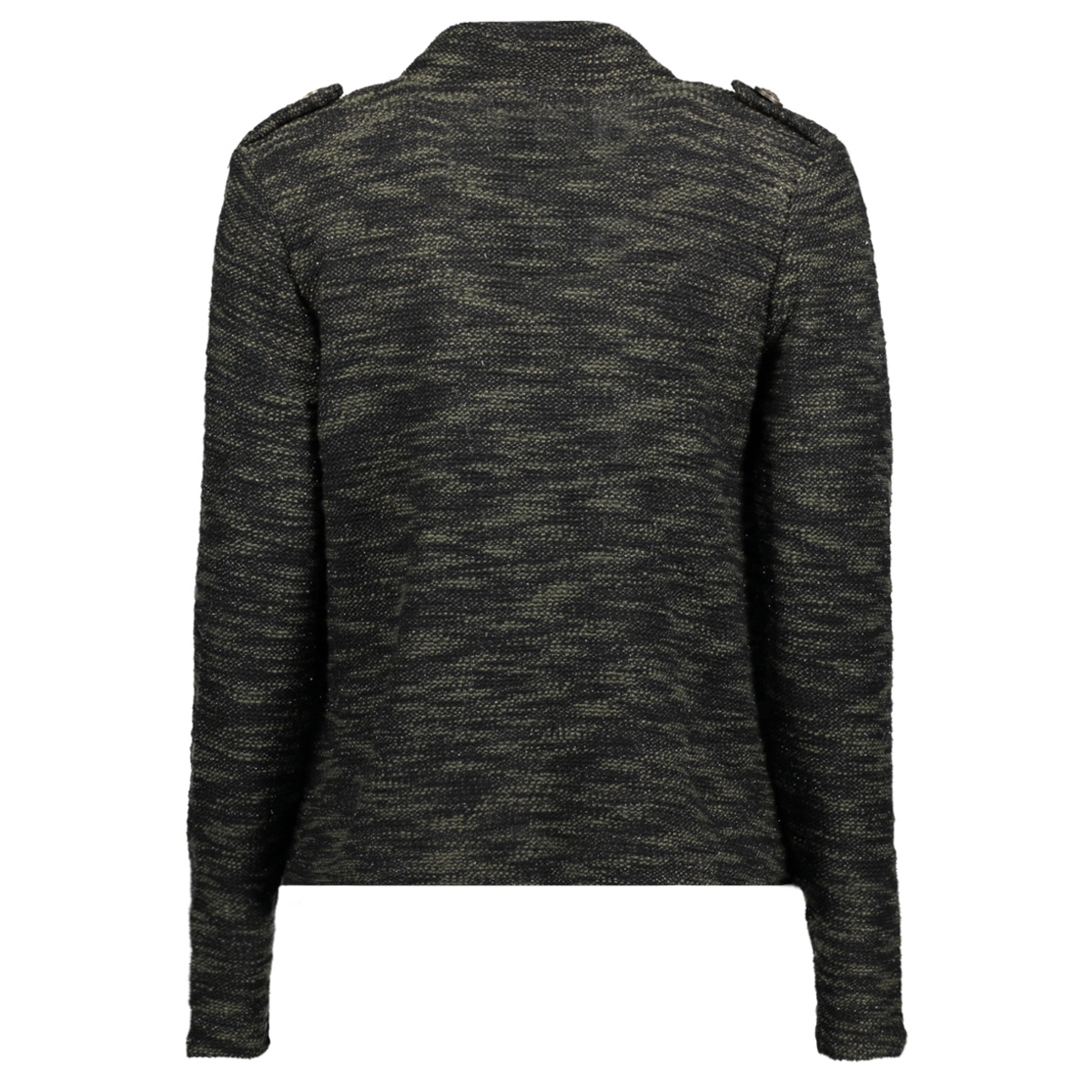 onladah l/s blazer jrs 15141096 only blazer black/melange