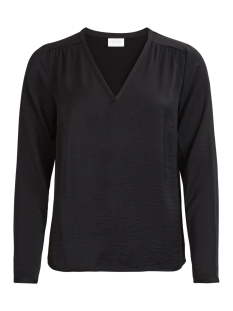 Vila Blouse VICAVA L/S V-NECK TOP-NOOS 14042801 Black