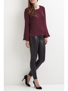 vibrava l/s top/dc/gv 14043391 vila blouse fig