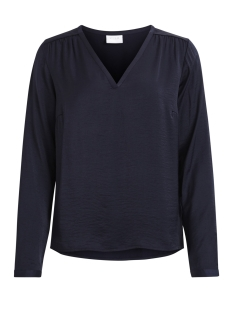 VICAVA L/S V-NECK TOP-NOOS 14042801 Total Eclipse