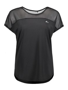 Only Play Sport shirt onpMALICA CURVED SS TRAINING TEE 15133973 Black