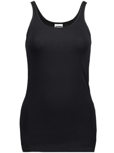 Noisy may Top NMSUPER LONG TANK TOP NOOS 27000735 Black