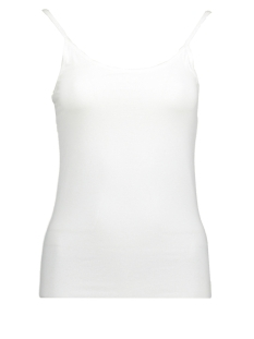 Noisy may Top NMSUPER SINGLET NOOS 27000734 Bright White