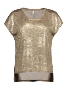 onlPLEARL S/S TOP JRS RP2 15135350 Gold Colour