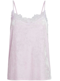 Pieces Top PCEDITH VELVET SLIP TOP FF 17084759 Ballet Slipper
