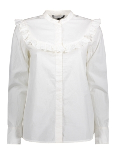 Vero Moda Blouse VMCHERRY COTTON L/S MIDI TOP D2-5 10183808 Snow White