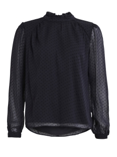 Vila Blouse VIAMO L/S TOP 14044554 Dark Navy