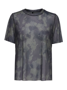 onlERICA S/S MESH TOP BOX JRS 15142005 Military Olive