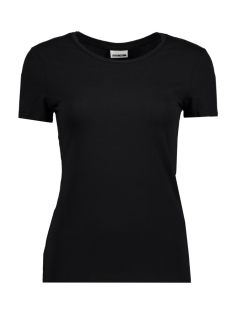 Noisy may T-shirt NMSUPER S/S TOP NOOS 27000736 Black