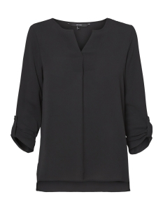 vmsasha 3/4 top a noos 10182497 vero moda blouse black