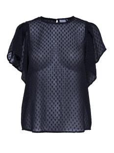 Jacqueline de Yong T-shirt JDYFREAKY S/S TOP WVN 15145994 Dark Navy