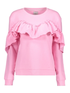 Only Sweater onlDREAM FRILL L/S SWEAT SWT 15138949 Prism Pink