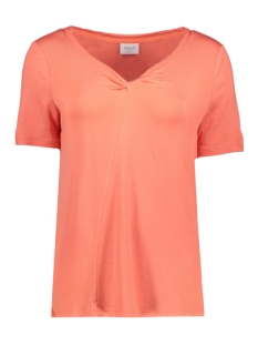 Vila T-shirt VINENE SS T-SHIRT 14044999 Deep Sea Coral