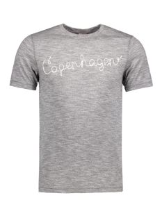 Jack & Jones T-shirt JORTWISTO TEE SS CREW NECK 12124885 Asphalt