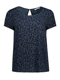 Only T-shirt onlANNA LEO AOP TOP  WVN 15148289 Reflection Pond/ Leo/ 2