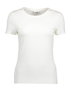 Noisy may T-shirt NMSUPER S/S TOP NOOS 27000736 Bright White